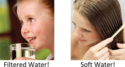 Drinking Water Before and After Filtration & Conditioning